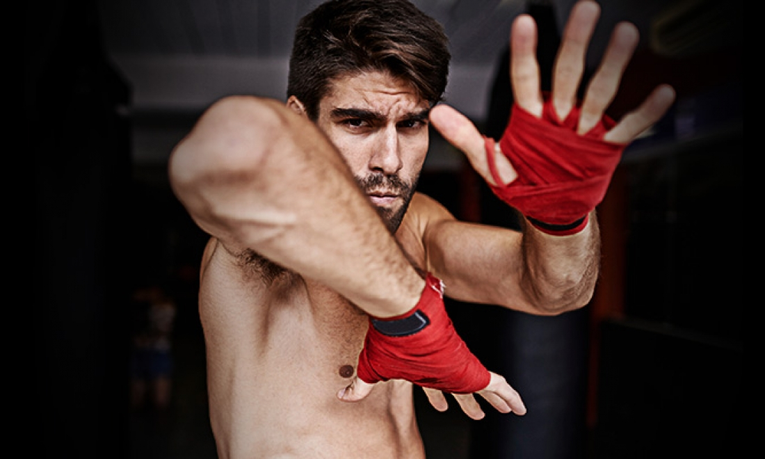 Core Training for Devastating Elbow Strikes… and Great Abs